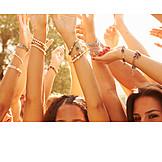 Enthusiastic, Celebrations, Festival, Cheering