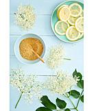 Elderberry elder, Ingredient, Pipe cane, Syrup, Lemons