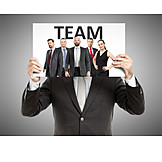 Team, Business person, Employees, Company, Staff