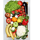 Healthy Diet, Fruit, Vegetable, Spices & Ingredients