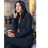 Business Woman, Business, Mobile Phones