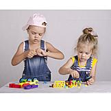 Girl, Fun & Games, Building Activity