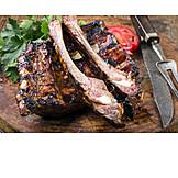 Grillfleisch, Schälrippchen, Schweinerippchen, Spareribs