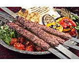 Kebab, Lammfleisch, Arabische Küche