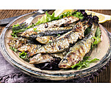 Fish dish, Sardine, Anchovy