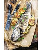 Prepared fish, Trout