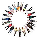 People, Circle, Society, Community