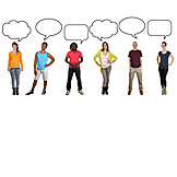 People, Group, Opinion, Statement, Speech Bubble