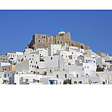 Aegean sea, Chora, Fortress ruin