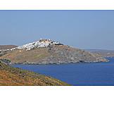 Aegean sea, Greek island, Chora