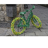 Bicycle, Decorated