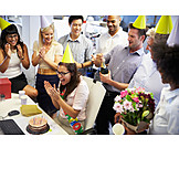 Birthday, Celebrations, Agency, Colleagues