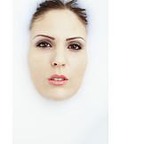 Beauty, Woman, Face