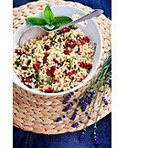 Orientalische Küche, Vegetarische Küche, Vegan, Bulgursalat