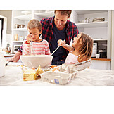 Father, Baking, Family Life