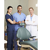 Team, Dentist, Dental Assistant