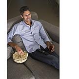 Man, Leisure & Entertainment, Watching Tv
