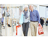 Senior, Paar, Einkauf & Shopping, Shoppen