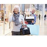 Seniorin, Paar, Einkauf & Shopping, Einkäufe