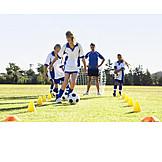 Fußball, Dribbeln, Training