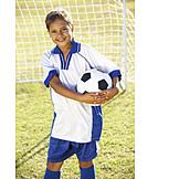 Mädchen, Spielen & Hobby, Fußball