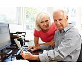 Problems, Pension, Older Couple