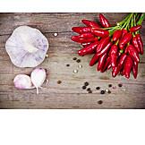 Spices & Ingredients, Garlic, Chili