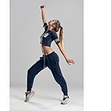 Jugendliche, Junge Frau, Hip Hop, Tanzen