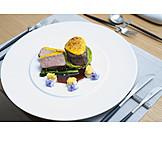Fleischgericht, Haute Cuisine, Kalbsfilet