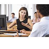 Meeting & Conversation, Open Plan Office