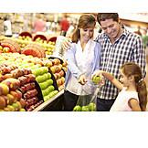 Purchase & Shopping, Family, Supermarket