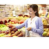 Purchase & Shopping, Fruit, Supermarket