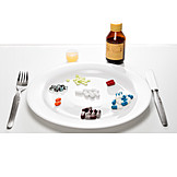 Drugs, Tablets Addiction, Dietary Supplement