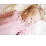 Kleinkind, Mädchen, Schlafen