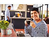 Woman, Coffee, Cafe, Coffee Time