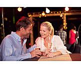 Nightlife, Bar Counter, Flirting