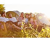 Freundschaft, Sommer, Camping