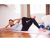 Frau, Sport & Fitness, Workout