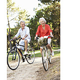Aktiver Senior, Ausflug, Radfahren