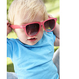 Kleinkind, Sommer, Sonnenbrille