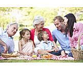 Family, Picnic, Grandparent