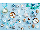 Gingerbread, Christmas decorations, Stars, Cinnamon biscuit