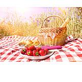 Frühstück, Romantisch, Picknick