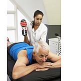Sportler, Reha, Physiotherapie