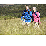Hiking, Outdoor, Hiking Vacation, Older Couple
