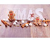 Gingerbread Cookie, Gingerbread Man, X-mas