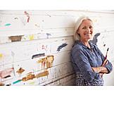 Senior, Painting, Artist