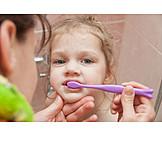 Child, Care & Charity, Brushing Teeth