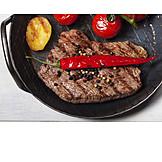 Rindersteak, Abendessen, Fleischgericht