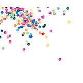 Multi Colored, Carnival, Confetti